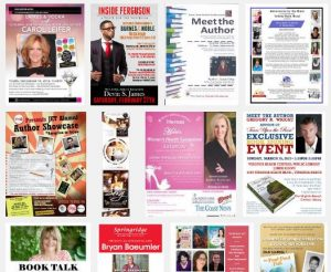 author sell sheet, author book flyer, author one page, speaker one page, author sell sheet example