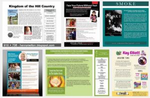 author sell sheet samples
