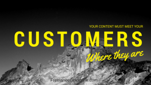 Changing Content and customer needs