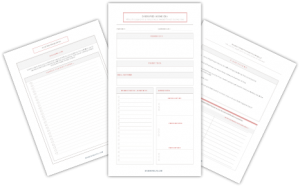 Business Idea Worksheets